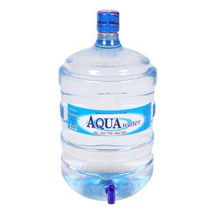 Nước tinh khiết AQUAwater 20L bình vòi