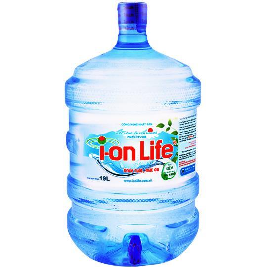 nước ion life bình vòi