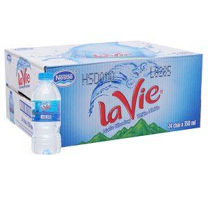 Thùng nước suối Lavie 350ml