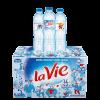 Thùng nước suối Lavie 500ml