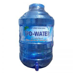 Nước tinh khiết TPD-Water 20L bình vòi