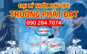 Đại lý nước uống Ion Life Trường Phát Đạt